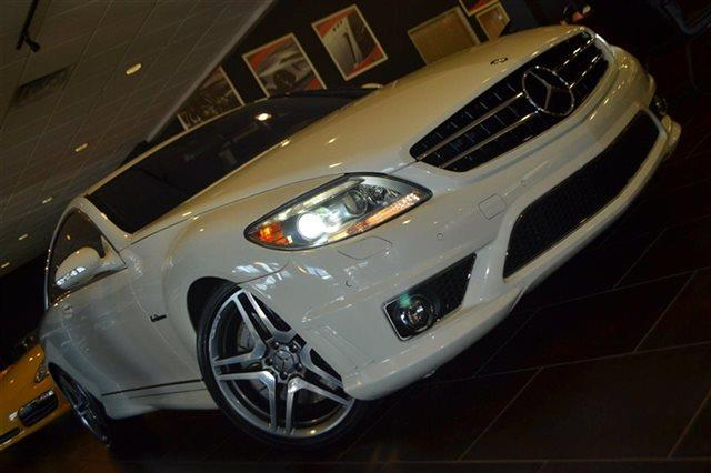 2008 MERCEDES-BENZ CL-CLASS CL63 AMG 2DR COUPE arctic white backup camera navigation heated