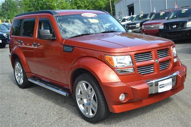 2009 DODGE NITRO RT 4X4 4DR SUV sunburst orange pearl new arrival 4wd this 2009 dodge nitro r