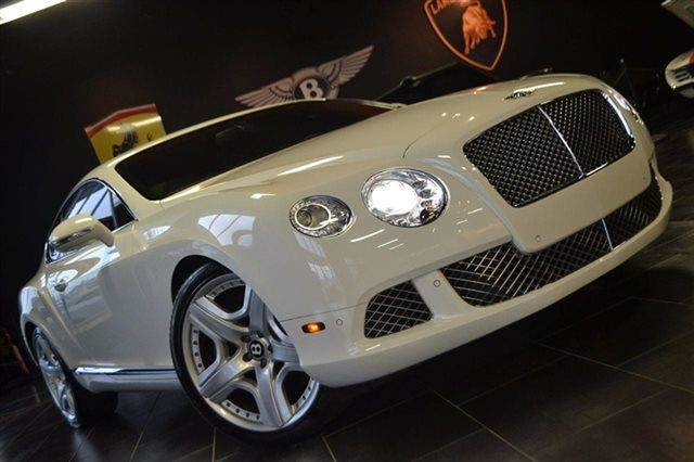 2012 BENTLEY CONTINENTAL GT BASE AWD 2DR COUPE arctica warranty a factory warranty is included wi