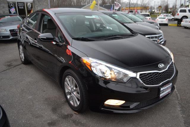 2015 KIA FORTE EX 4DR SEDAN black this 2015 kia forte 4dr 4dr sedan automatic ex features a 20l