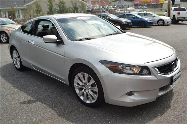 2008 HONDA ACCORD 2DR V6 AUTOMATIC EX-L COUPE alabaster silver metallic new arrival this 2008 ho