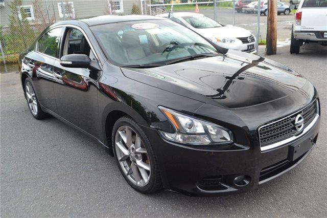 2011 NISSAN MAXIMA 4DR SEDAN V6 CVT 35 S SEDAN super black new arrival carfax one owner this