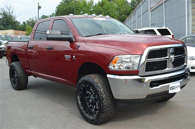 2012 RAM RAM PICKUP 3500 ST 4X4 4DR CREW CAB 63 FT SB P flame red priced below market this350