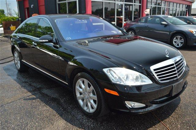 2007 MERCEDES-BENZ S-CLASS S550 4DR SEDAN black new arrival carfax one owner this 2007 merce