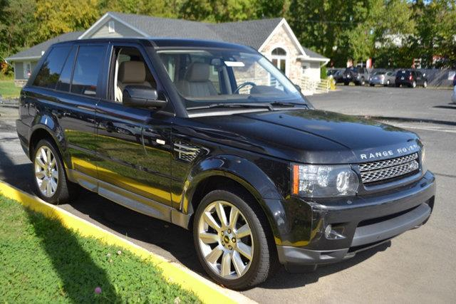 2013 LAND ROVER RANGE ROVER SPORT HSE LUX 4X4 4DR SUV black this 2013 land rover range rover spor