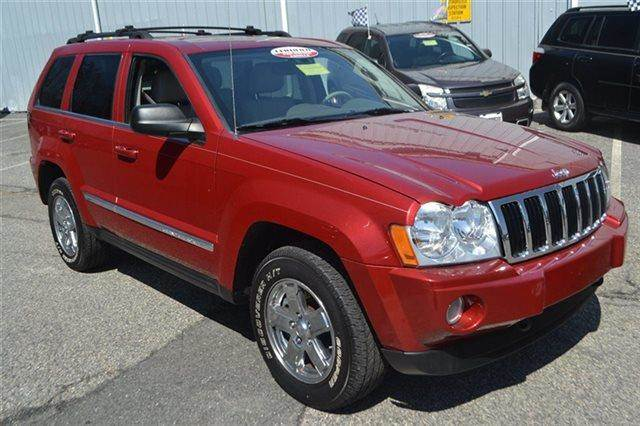 2005 JEEP GRAND CHEROKEE LIMITED 4DR 4WD SUV inferno red crystal pearl priced below market this