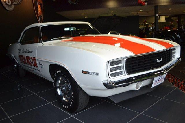 1969 CHEVROLET CAMARO Z-11 white warranty included a limited warranty is included with this vehi