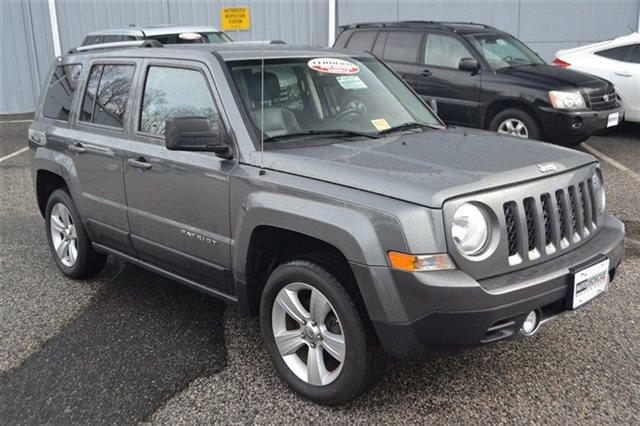 2012 JEEP PATRIOT LIMITED 4X4 4DR SUV mineral gray metallic low miles this 2012 jeep patriot l