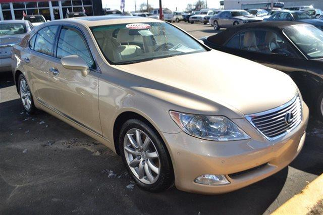2007 LEXUS LS 460 BASE 4DR SEDAN gold bluetooth backup camera navigation heated seats su