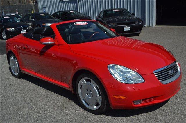 2002 LEXUS SC 430 BASE 2DR CONVERTIBLE absolutely red carfax one owner this 2002 lexus sc 430