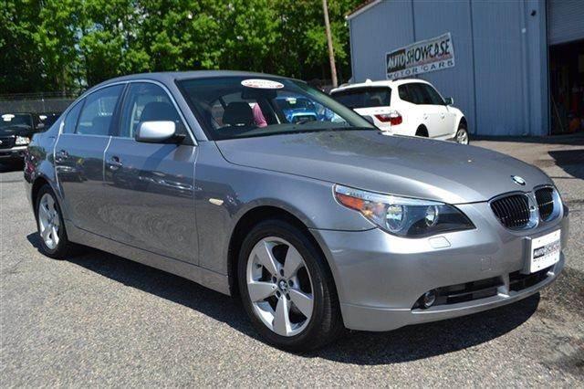 2007 BMW 5 SERIES 525XI AWD 4DR SEDAN silverstone metallic new arrival low