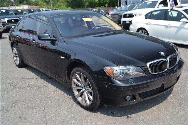 2008 BMW 7 SERIES 750LI 4DR SEDAN black sapphire metallic bluetooth park distance control na