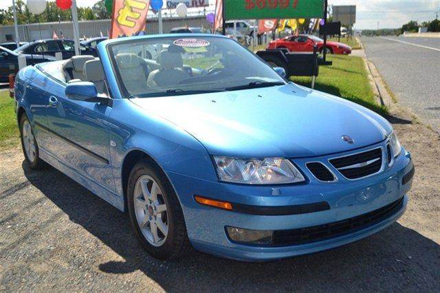 2007 SAAB 9-3 20T 2DR CONVERTIBLE blue low miles this 2007 saab 9-3 2dr convertible automatic