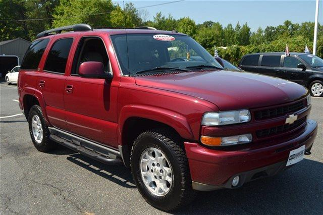 2004 CHEVROLET TAHOE 4WD sport red metallic new arrival keyless start carfax 1-owner vehicle