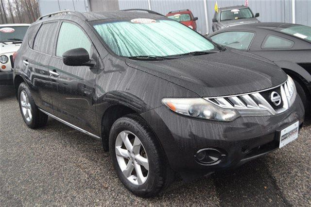 2009 NISSAN MURANO AWD 4DR S 4X4 SUV super black 4wd this 2009 nissan murano s will sell fast