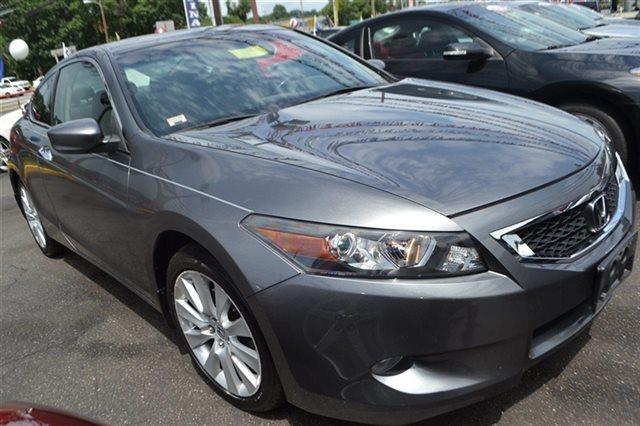 2010 HONDA ACCORD 2DR V6 AUTOMATIC EX-L polished metal metallic navigation heated seats sunr