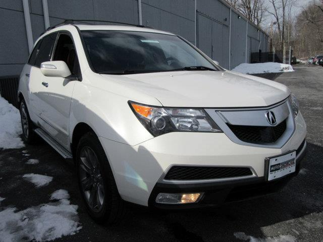 2010 ACURA MDX SH-AWD WADVANCE WRES 4DR SUV A white this 2010 acura mdx 4dr awd 4dr advanceent