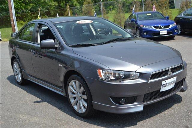 2009 MITSUBISHI LANCER RALLIART AWD 4DR SEDAN graphite gray pearl carfax 1-owner low miles th