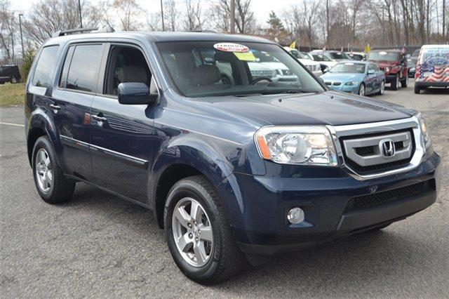 2009 HONDA PILOT EX-L 4DR SUV bali blue pearl heated seats sunroofmoonroof premium sound pa
