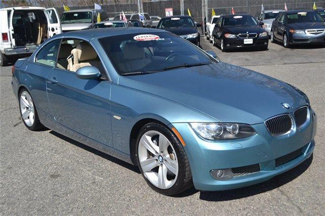 2008 BMW 3 SERIES 335I 2DR CONVERTIBLE blue low miles for a 2008 navigation heated seats a