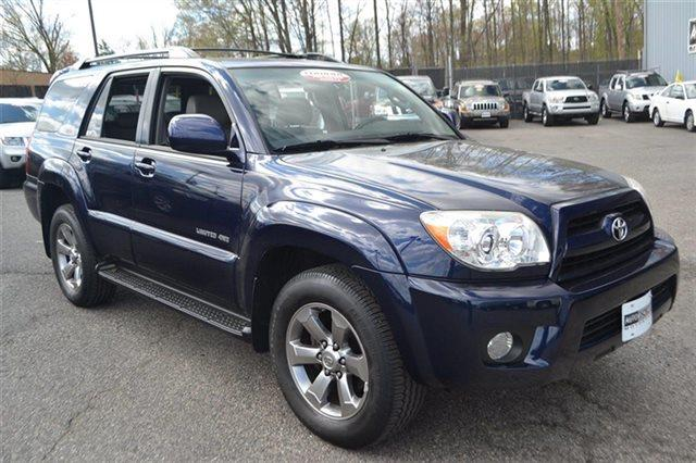 2006 TOYOTA 4RUNNER LIMITED 4DR SUV 4WD W40L V6 nautical blue metallic heated seats keyless