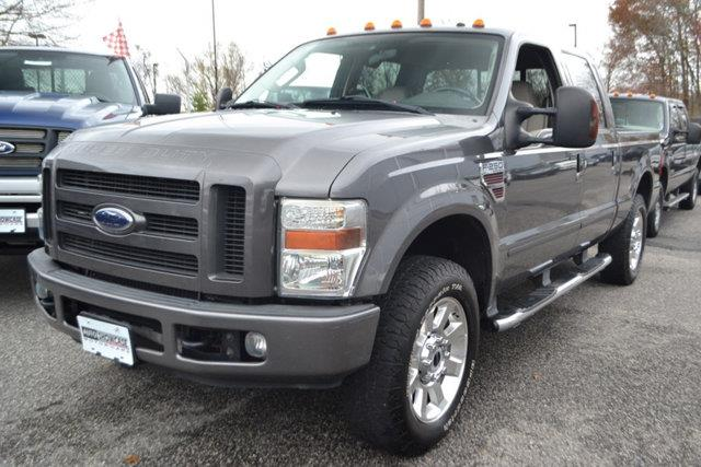 2008 FORD F-250 SUPER DUTY XLT CREW CAB 4WD gray this 2008 ford super duty f-250 srw 4dr xlt crew