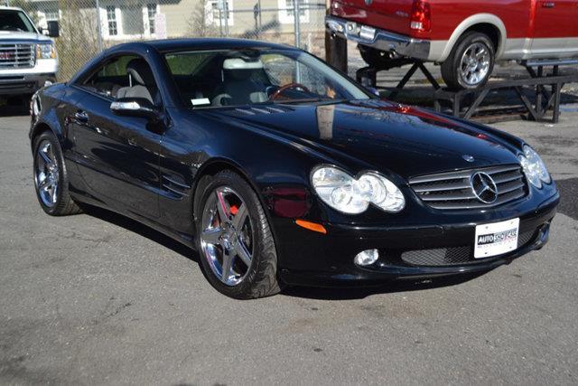 2006 MERCEDES-BENZ SL-CLASS SL500 2DR CONVERTIBLE black this 2006 mercedes-benz sl-class 2dr sl50
