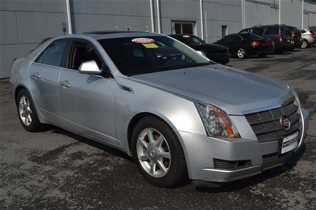 2009 CADILLAC CTS 36L V6 AWD 4DR SEDAN W AUTO radiant silver priced below market this 2009 c