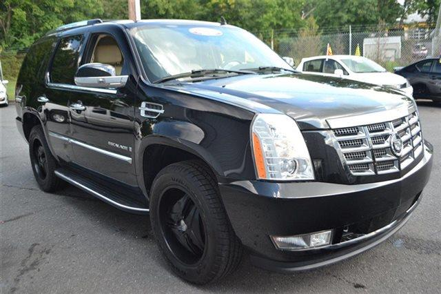 2007 CADILLAC ESCALADE BASE AWD 4DR SUV black raven new arrival park distance control heated
