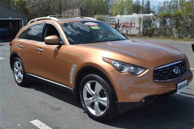 2010 INFINITI FX35 BASE AWD 4DR SUV mojave copper priced below market carfax one owner nav