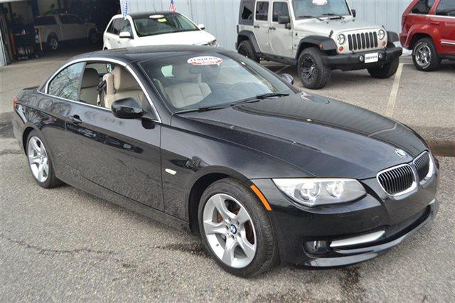 2011 BMW 3 SERIES 335I 2DR CONVERTIBLE black sapphire metallic carfax 1-owner this 2011 bmw 3 s