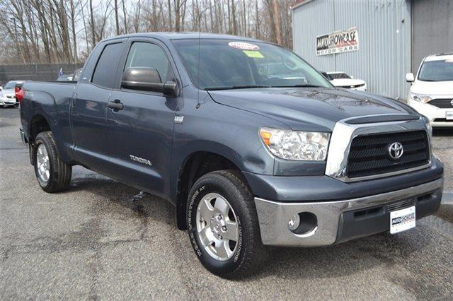 2008 TOYOTA TUNDRA DBL 47L V8 5-SPD AT SR5 4X4 TRU blue low miles this 2008 toyota tundra 4wd