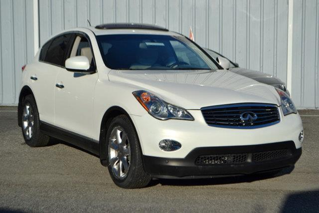 2008 INFINITI EX35 - white this 2008 infiniti ex35 4dr - features a 35l v6 cylinder 6cyl gasolin