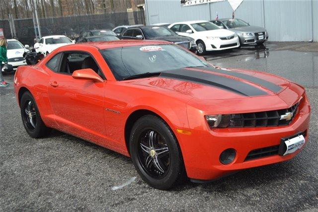 2010 CHEVROLET CAMARO LS 2DR COUPE orange warranty included a factory warranty is included with