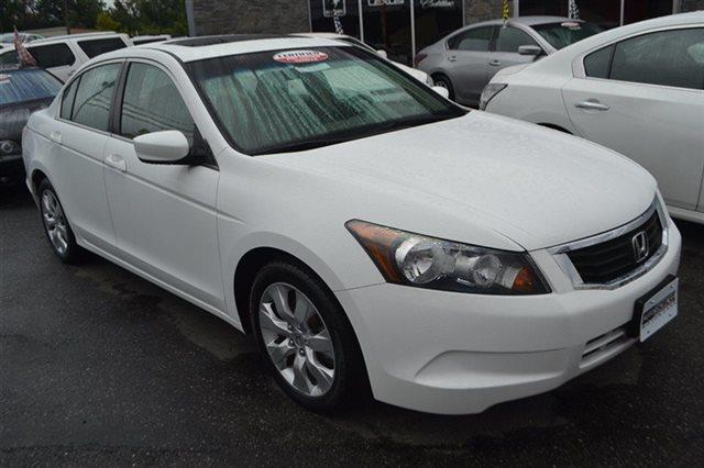 2009 HONDA ACCORD EX 4DR SEDAN 5A taffeta white new arrival low miles this 2009 honda accord