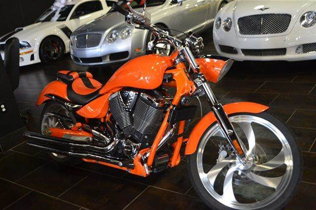 2007 VICTORY VEGASJACKPOT - orange warranty a factory warranty is included with this vehicle con