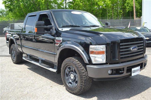 2008 FORD F-250 SUPER DUTY - 4X4 TRUCK black new arrival 4wd priced below market this 2008