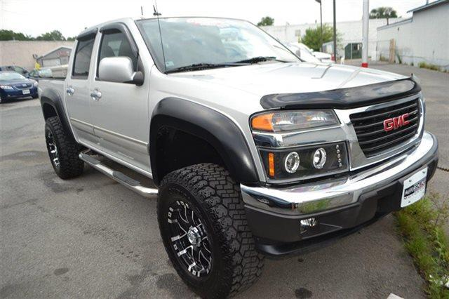 2010 GMC CANYON SLE-1 4X4 4DR CREW CAB pure silver metallic 4wd this 2010 gmc canyon sle1 will