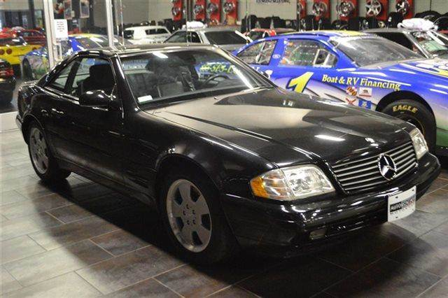 1999 MERCEDES-BENZ SL-CLASS SL500 2DR CONVERTIBLE black low miles this 1999 mercedes-benz sl-c