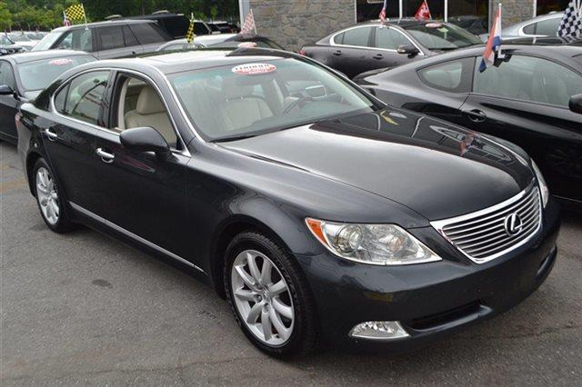 2007 LEXUS LS 460 BASE 4DR SEDAN smoky granite mica low miles this 2007 lexus ls 460 4dr sedan