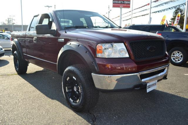 2006 FORD F-150 - maroon this 2006 ford f-150 - features a 54l 8 cylinder 8cyl gasoline engine
