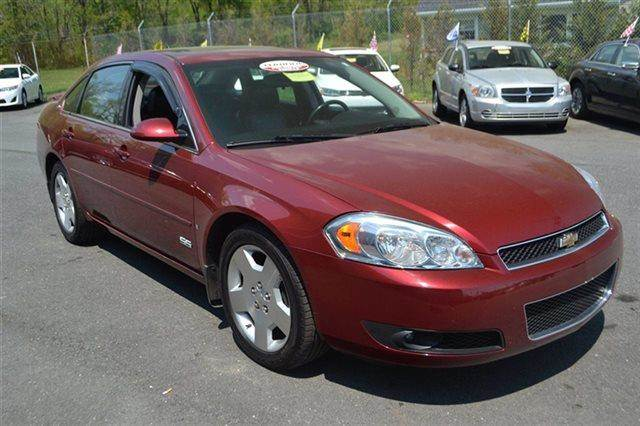 2008 CHEVROLET IMPALA SS 4DR SEDAN precision red heated seats keyless start carfax 1-owner v