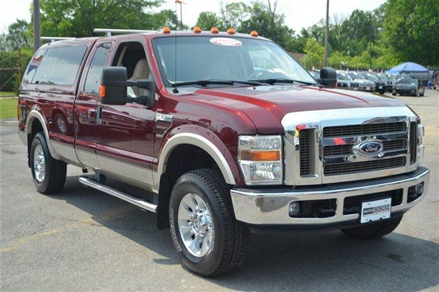 2008 FORD F-250 SUPER DUTY - dark toreador red low miles this 2008 ford su