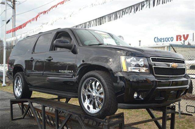 2007 CHEVROLET SUBURBAN LS 1500 2WD SUV black keyless start this 2007 chevrolet suburban lt ha