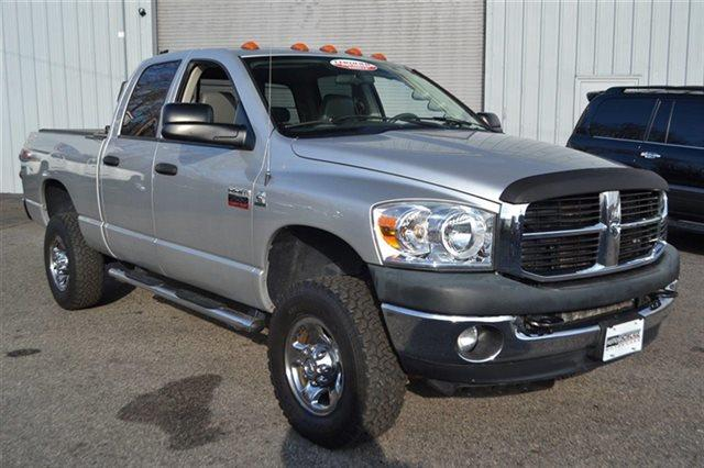 2008 DODGE RAM PICKUP 3500 SLT QUAD CAB LWB 4WD DRW 4X4 TRU grey premium sound package keyless