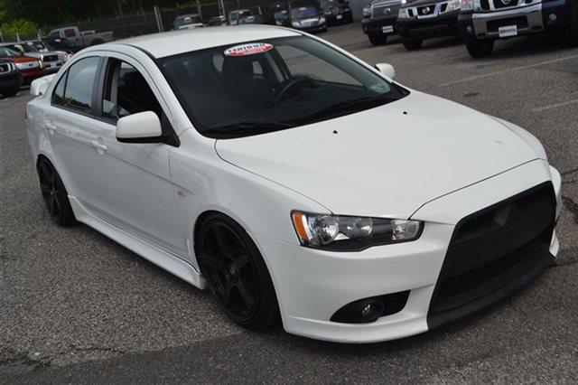 2012 MITSUBISHI LANCER GT 4DR SEDAN 5M wicked white metallic new arrival value priced below ma