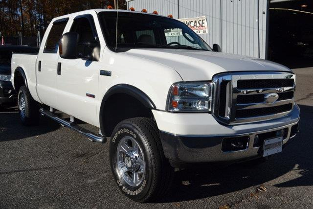 2005 FORD F-350 SUPER DUTY LARIAT CREW CAB 4WD white this 2005 ford f-350 sd