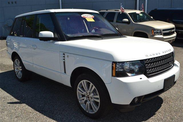 2012 LAND ROVER RANGE ROVER HSE LUX 4X4 4DR SUV valliore white pearl mica 4wd priced below mar