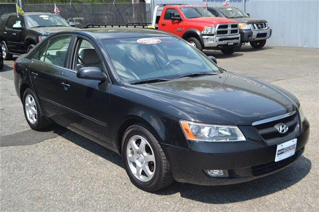 2006 HYUNDAI SONATA 4DR SEDAN GLS V6 AUTOMATIC SEDAN ebony black carfax one owner this 2006 hy
