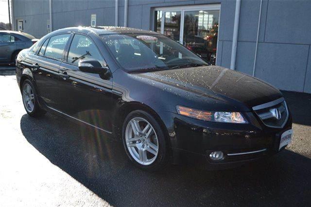 2007 ACURA TL 4DR SEDAN AUTOMATIC SEDAN black priced below market this 2007 acura tl 4dr sedan